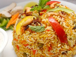 R-8 VEGETABLE BIRYANI