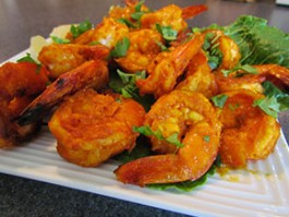 T-6 TANDOORI SHRIMP