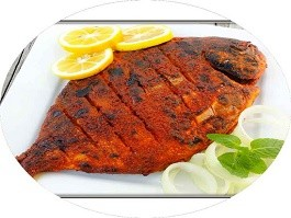 Tandoori Red Snapper