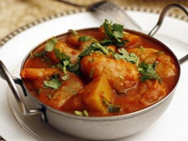 F-5 SHRIMP VINDALOO