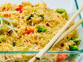 R-5 VEGETABLE FRIED RICE