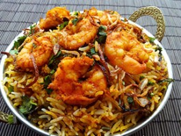 R-3 SHRIMP BIRIYANI